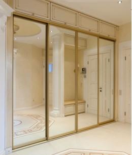 Двери для шкафа-купе в классическом стиле