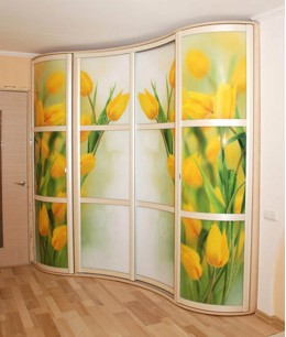 Современные радиусные двери