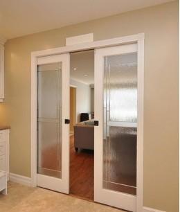 Раздвижные двери в кухню хрущевке