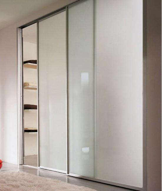 Стеклянные двери для гардеробной