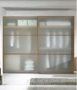 Современные стеклянные двери