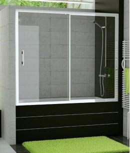 Стеклянные двери в ванную