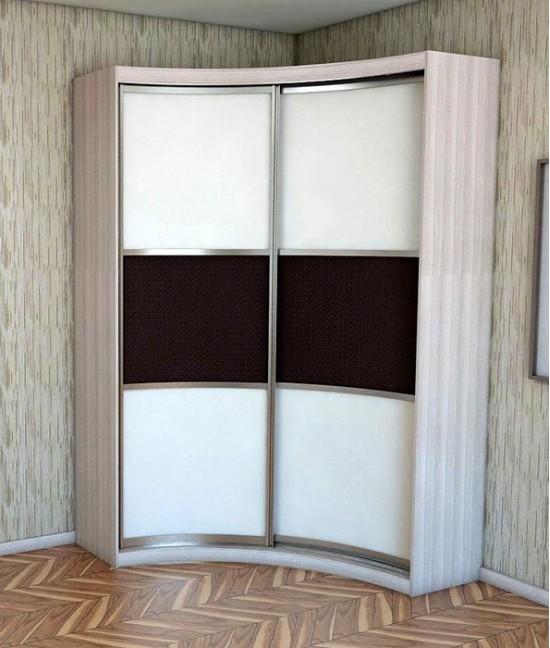 Радиусные двери для шкафов купе цена