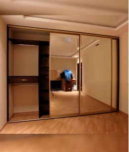 Алюминиевые двери для шкафов купе