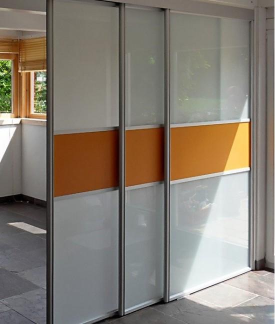 Каскадные раздвижные межкомнатные двери