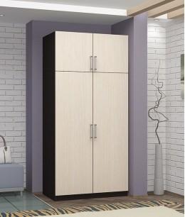 Шкаф купе для верхней одежды двухстворчатый