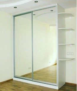 Шкаф купе зеркальный 2 двери