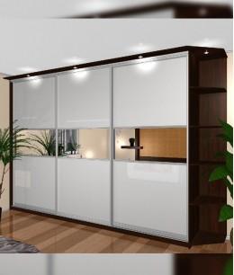 Купе шкафы гардеробные от пола до потолка недорого в спб